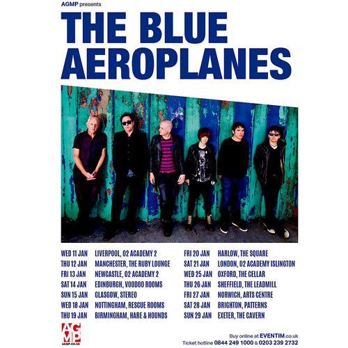Blue Aeroplanes Are Back!
