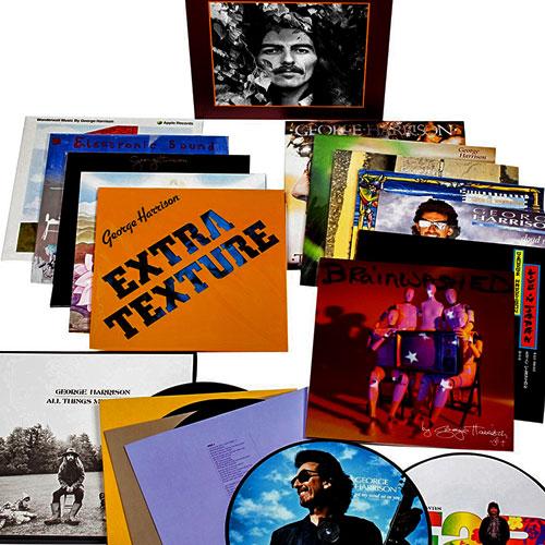 Shakenstir George Harrison Vinyl Box Set