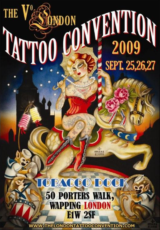 London Tattoo Convention: 2009