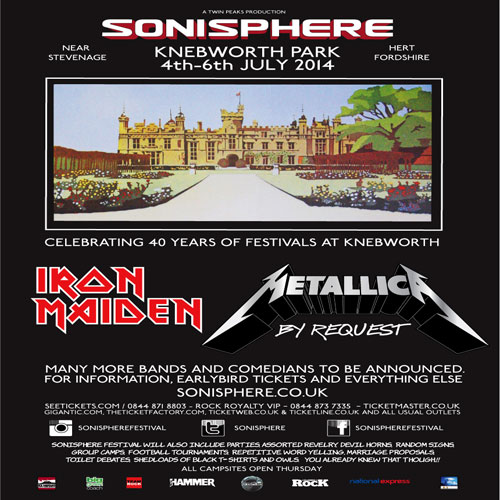 Sonisphere UK in 2014