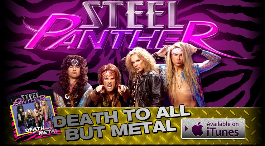 steel panther logo. Fotos Steel Panther - Fotos